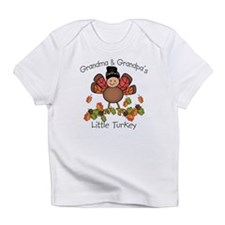 Grandma & Grandpa's Lil Turkey Infant T-Shirt