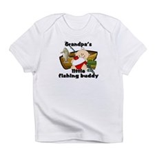 Grandpa's Fishing Buddy Infant T-Shirt