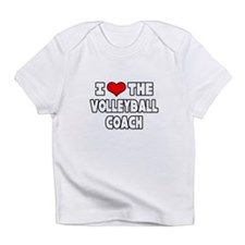 """I Love The Volleyball Coach"" Infant T-Shirt"