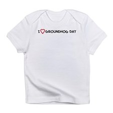 I Love Groundhog Day Creeper Infant T-Shirt