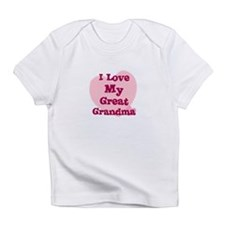 I Love My Great Grandma Creeper Infant T-Shirt