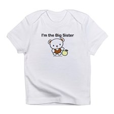 I'm the big sister- white bea Infant T-Shirt