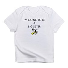 BW puppy - going to be big sister Infant T-Shirt