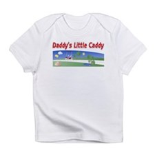 Daddy's little caddy Creeper Infant T-Shirt
