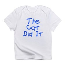 Twisted Imp The Cat Did It Infant T-Shirt