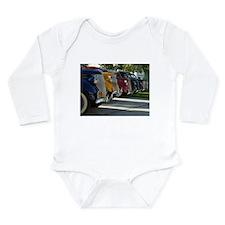 36 Ford Grill Long Sleeve Infant Bodysuit