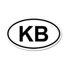 KB 35x21 Oval Wall Peel
