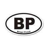 Berger Picard BP Euro 35x21 Oval Wall Peel