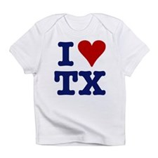 I LOVE TX Creeper Infant T-Shirt