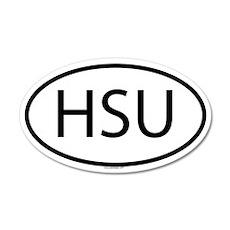 HSU 35x21 Oval Wall Peel