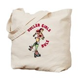 Roller Girls Tote Bag