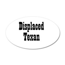 Displaced Texan 20x12 Oval Wall Peel