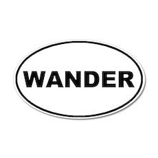 Wander Oval 20x12 Oval Wall Peel
