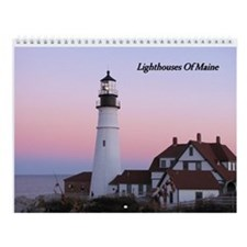 Maine Lighthouse Calendar