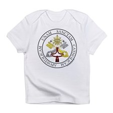 4 Marks of the Church - Latin Creeper Infant T-Shi