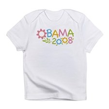 Obama Flowers Infant T-Shirt