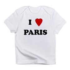 I Love Paris Creeper Infant T-Shirt