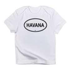 Havana, Cuba euro Creeper Infant T-Shirt