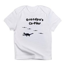 Grandpa's Co-Pilot Infant T-Shirt