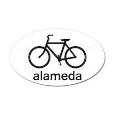 Bike Alameda 35x21 Oval Wall Peel