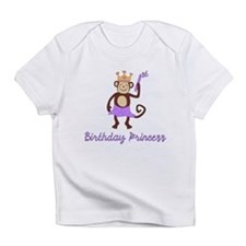 1st Birthday Princess Monkey Infant T-Shirt