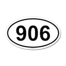 906 20x12 Oval Wall Peel