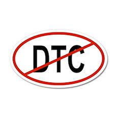 DTC 35x21 Oval Wall Peel