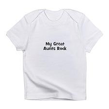 My Great Aunts Rock Creeper Infant T-Shirt