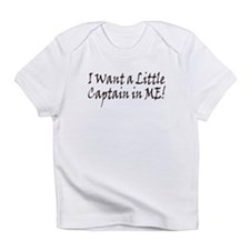 Captain in Me Creeper Infant T-Shirt