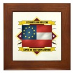 1st Maryland Infantry Framed Tile