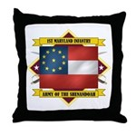 1st Maryland Infantry Throw Pillow