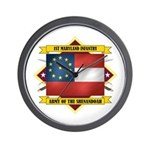 1st Maryland Infantry Wall Clock