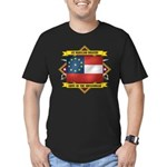 1st Maryland Infantry Men's Fitted T-Shirt (dark)