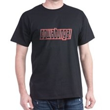 Cowabunga! Black T-Shirt