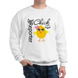 Court Reporter Chick Sweatshirt