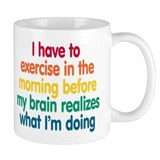 Early Morning Exercise Mug