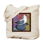 Swallow Pigeon Framed Tote Bag