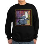 Swallow Pigeon Framed Sweatshirt (dark)