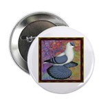 "Swallow Pigeon Framed 2.25"" Button"