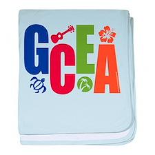 GCEA Apparel baby blanket