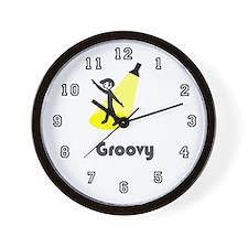 'Groovy Dancer' Wall Clock