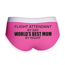 World's Best Mom - FLIGHT ATTENDANT Women's Boy Br