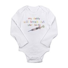 Knockout Daddy Long Sleeve Infant Bodysuit