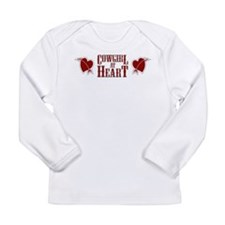 Cowgirl at Heart Long Sleeve Infant T-Shirt