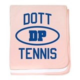 Dott Tennis baby blanket