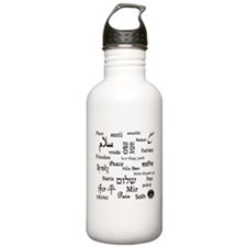 Peace Everywhere! Water Bottle