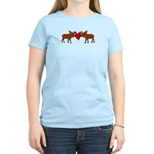 Kissing Moose T-Shirt