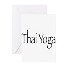 Thai Yoga Style2 Greeting Cards (Pk of 10)