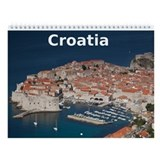 Croatia Wall Calendar