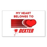 My Heart Belongs to Dexter Decal
